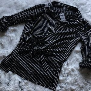 Charlotte Russe Striped Blouse